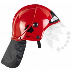 Hełm strażacki czerwony