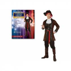 75086 - Kostým na karneval - Kapitán korzárov, pre dospelých (178 cm).