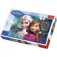 puzzle 100 - Anna a Elsa / Ľadové královstvo