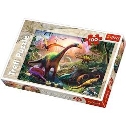 puzzle 100 - Dinosaury