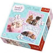 puzzle 3v1 - Mačiatka