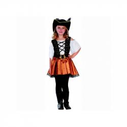 Kostým na karneval Korzárky, 110-120cm