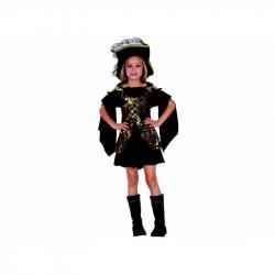 Šaty na karneval - Pirátky, 110 - 120 cm