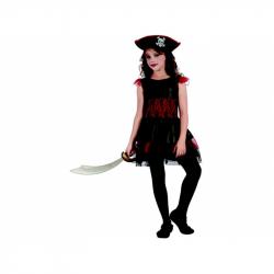 Šaty na karneval - pirátky, 120-130 cm