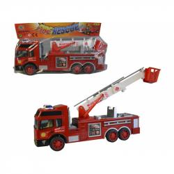01291 - Auto hasičské, na setrvačník, 30cm