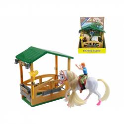 Stáj s koněm