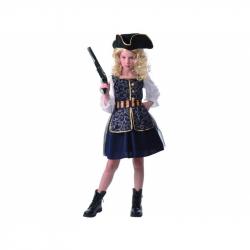Šaty na karneval - pirátky, 120 - 130 cm
