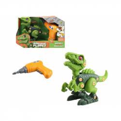 Dinosaurus ke šroubování, na baterie, 20 cm