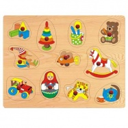 Dřevěné hračky - Vkládací puzzle - Vkládačka - Hračky B