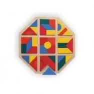 Drevené hračky - Mozaika kosoštvorec