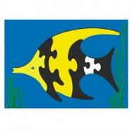 Dřevěné hračky - Vkládací puzzle - Vkládačka - Ryba