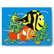 Drevené hračky - Vkladacie puzzle - Vkladačka - Hľadá sa Nemo