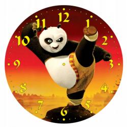 Dětské hodiny Panda bojovník