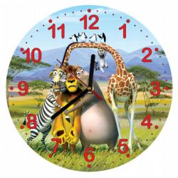 Dětské hodiny Madagaskar