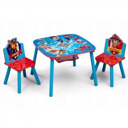 Dětský stůl s židlemi Tlapková Patrola záchranáři