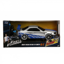 Szybki i wściekły samochód RC Nissan Skyline 1:24