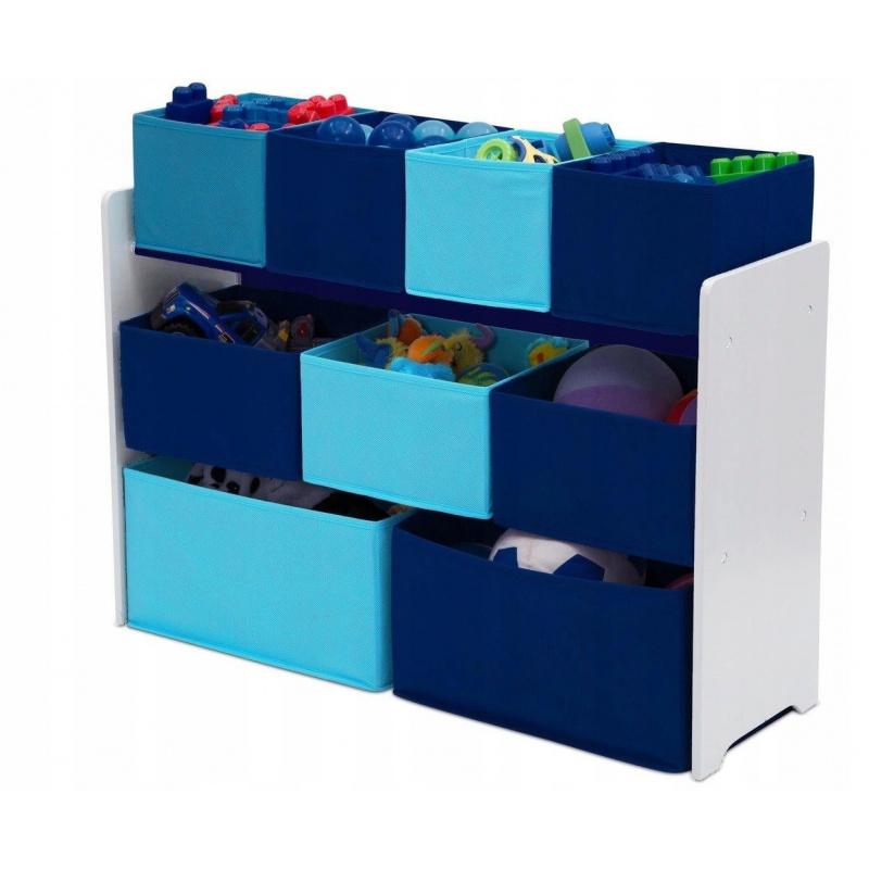Organizér na hračky Modrý