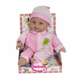 Bábätko Bambolina Amore 26 cm s pevným telíčkom