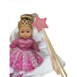 Bábika Bambolina Molly princezná sa 3 pesničkami