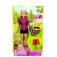 Barbie na biwaku Ast. Mattel