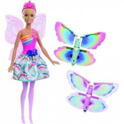 Barbie lietajúci víla s krídlami blondínka