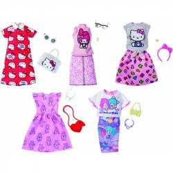 Barbie, Komplet ubranek z ulubieńcami
