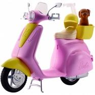 Barbie - Skuter dla lalki ze szczeniaczkiem