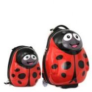 Dětská sada batoh a kufr Beruška