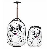 Dětská sada batoh a kufr Dalmatin