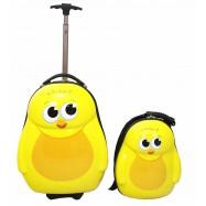 Dětská sada batoh a kufr Kuřátko
