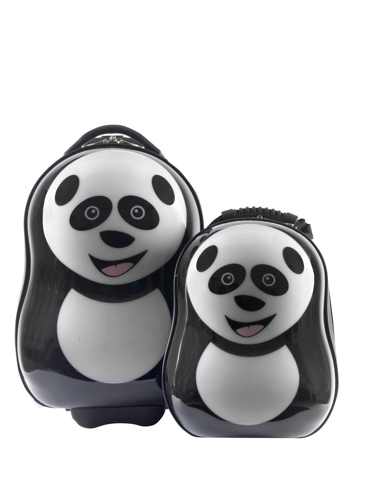 Dětská sada batoh a kufr Panda