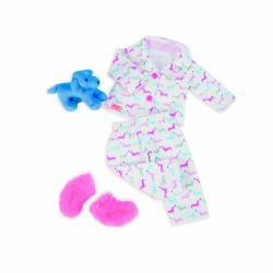 Pyžamko s plyšovým pejskem na spaní