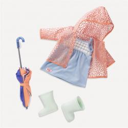 Obleček do deště s deštníkem