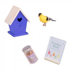 Módní doplňky - Set s ptačí budkou
