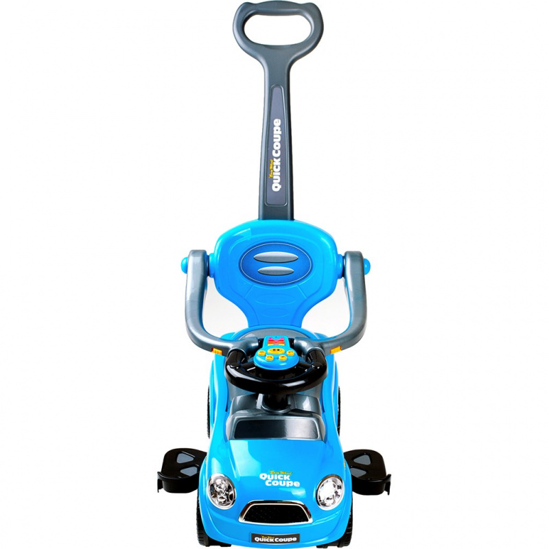 Detské hrajúci Jezdítko 3v1 Bayo Super Coupe blue