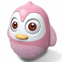 Kývacou hračka Bayo tučniak pink