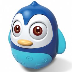 Kývacou hračka Bayo tučniak blue