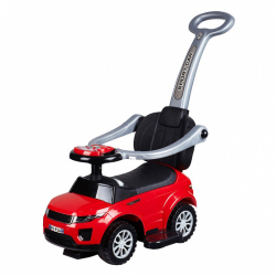 Detské hrajúci Jezdítko 3v1 Bayo Sport Car red