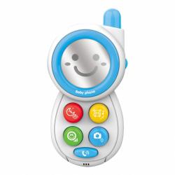Detský telefónik so zvukmi BAYO blue