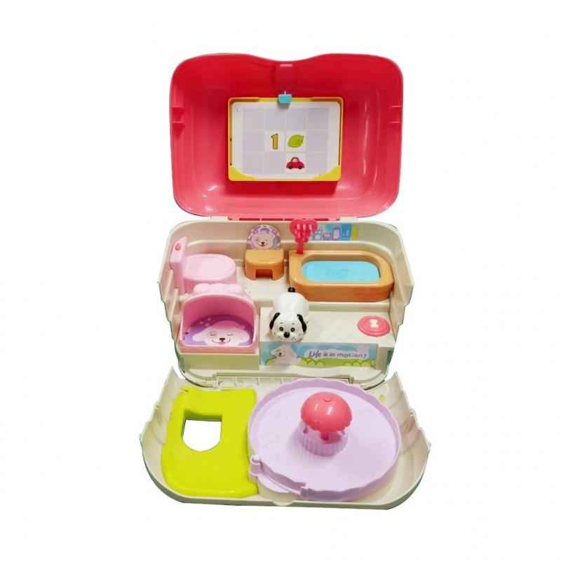 Interaktivní hračka BAYO domeček pro mazlíčky