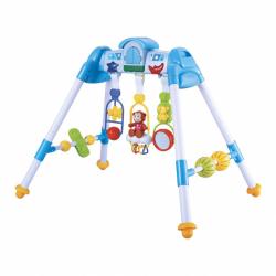 Dětská hrající edukační hrazdička BAYO premium blue