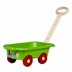 Dětský vozík Vlečka BAYO 45 cm zelený