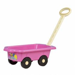 Dětský vozík Vlečka BAYO 45 cm růžový