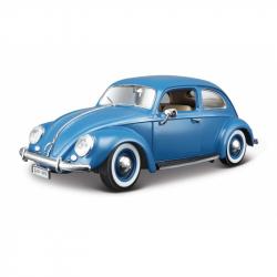 VW Käfer-BEETLE 1:18 modrý