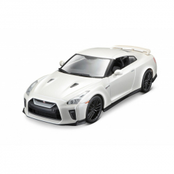 Nissan GT-R 1:24 biały BBURAGO