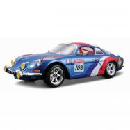 Bburago Alpine Renault A110 1600S 1:24 niebieski