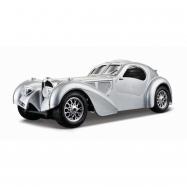 Bugatti Atlantic 1936 1:24 srebrny BBURAGO