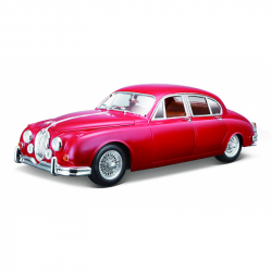 Bburago 1:18 Jaguar Mark 1959 Red
