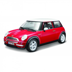 Bburago 1:18 Mini Cooper (2001) Red