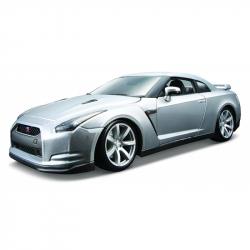 Bburago 1:18 2009 Nissan GT-R Metallic Silver